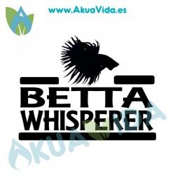 Taza Betta CrownTail Whisperer Ceramica Blanca