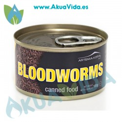 Koral Canned Bloodworms 100 Grs