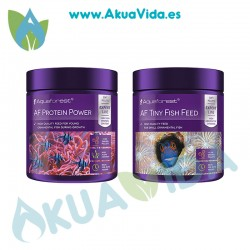 Aquaforest Protein Power/ Tiny fish Feed Duo Pack