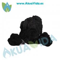 Roca Kilo Lava Black Medida Aprox. 10 a 20 cm