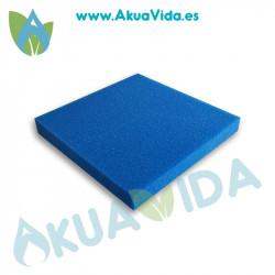 Esponja Grano Medio Azul 50 x 50 cm