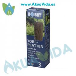 Hobby Torfplatten (Placas Turba) 3 Unidades