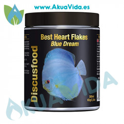 Discusfood Best Heart Flakes Blue Dream 65 Gr