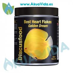 Discusfood Best Heart Flakes Golden Dream 65 Gr