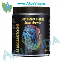 Discusfood Best Heart Flakes Super Growth 65 Gr
