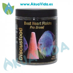 Discusfood Best Heart Flakes Pro Breed 65 Gr