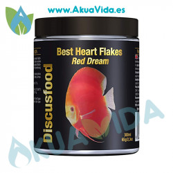 Discusfood Best Heart Flakes Red Dream 65 Gr