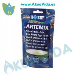 Hobby Artemix - Huevos Artemia y Sal 16 Grs