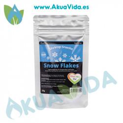 GlasGarten Shrimp Snacks Snow Sticks Mix 3 en 1 30 Grs
