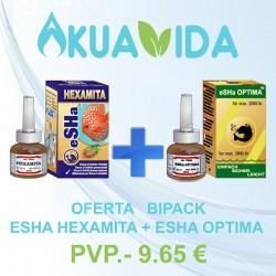 Esha Bipack Hexamita + Optima
