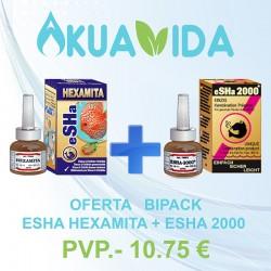 Esha Bipack Hexamita + Esha 2000