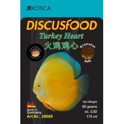 Discusfood Turkey Heart Soft 80 grs