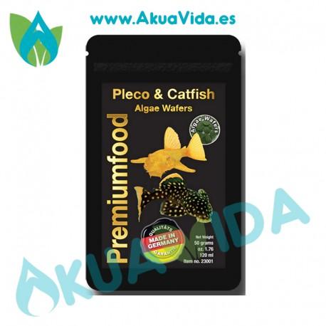 Discusfood Pleco & Catfish Algae Wafers 50g