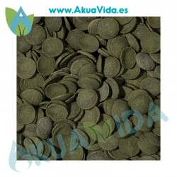 Tropical Green Algae Wafers espirulina en tabletas 113 Grs 250 Mlts
