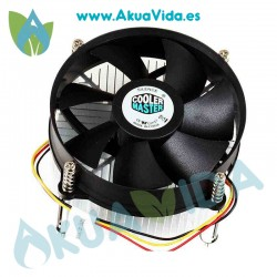 Disipador Cooler Master DI5-9HDSC socket 775 led