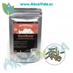 GlasGarten Shrimp Snacks Maulbeer (Hojas Morera) 30 gr