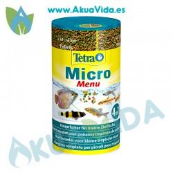 Tetra Micro Menu 4 en 1 100 Ml - 65 Gr