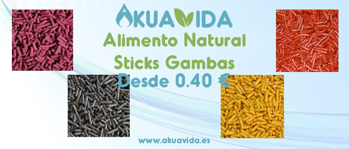 Alimento Natural Sticks Gambas